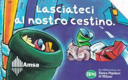 ITALY - Christmas 1997, Amsa, Exp.date 31/12/99, Used - Openbare Reclame