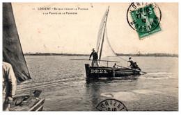 56 LORIENT - Bateau Faisant Le Passage à La Pointe De La Perrière - Lorient