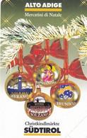 ITALY - Christmas, Alto Adige, Exp.date 31/12/00, Mint - Openbare Reclame