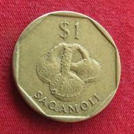 Fiji 1 One Dollar 1998 KM# 73 *V2 - Fiji