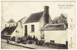 Souvenir De Heyst - Maison De Pêcheurs - Heist