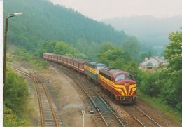 Locomotive Diesel - électrique à Trois - Ponts Le 16/06/1988 - Trains