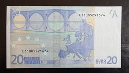 20 Euro Draghi R026 L35 Germany / Finland - 20 Euro