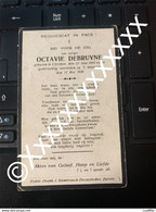 [V] Debruyne Octavie Clercken 1842 1929 Zarren - Avvisi Di Necrologio
