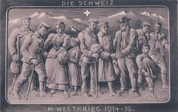 Die Schweiz Im Weltkrieg 1914-16, La Suisse Hospitalière (1.9.1916) - War 1914-18