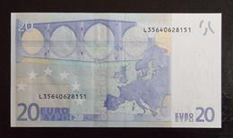 20 Euro Draghi R031 L35 UNC Germany / Finland - 20 Euro