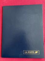 Plaquette De La Poste 2000 Grands Aventuriers Francais + 2 Blocs De 4 Timbres Paul Emile Victor - Documentos Del Correo