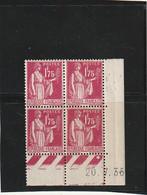 ///  FRANCE  //// Coin Daté N° 289  **  1935 Mercure 1.75cts -- Côte 115€ - 1930-1939