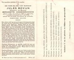 Jules Bovijn (1882-1956) ~ Oudstrijder (1914-1918) - Santini