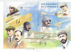 """✅ """" LES PIONNIERS DE L'AVIATION """" Sur Document Philatélique Officiel 1°Jour. De 2010 N° YT F4504 Parf état  ! DPO - Avions"""
