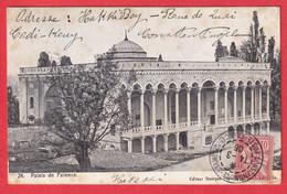 MOUCHON LEVANT CONSTANTINOPLE STAMBOUL POSTES FRANCAISES 1906 ANVERS BELGIQUE - Covers & Documents