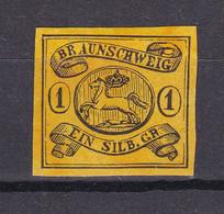 Braunschweig - 1853 - Michel Nr. 6 ND - Ungebr. - Brunswick