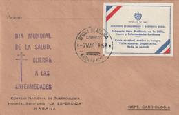 Cuba 1956 FDC - FDC