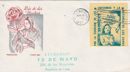Cuba 1957 FDC - FDC