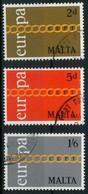 MALTA 1971 Nr 422-424 Gestempelt X02C7E6 - Malta