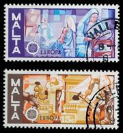MALTA 1976 Nr 532-533 Gestempelt X0456E2 - Malta