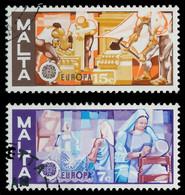 MALTA 1976 Nr 532-533 Gestempelt X0456F2 - Malta