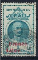 COTE DES SOMALIS   N°  YVERT  222     OBLITERE       ( Ob   2 / 31 ) - Oblitérés