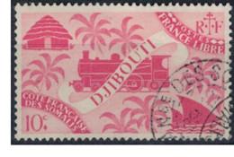 COTE DES SOMALIS   N°  YVERT  235    OBLITERE       ( Ob   2 / 32 ) - Oblitérés