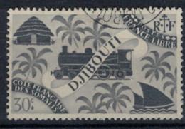 COTE DES SOMALIS   N°  YVERT  237    OBLITERE       ( Ob   2 / 32 ) - Used Stamps