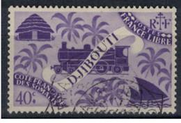 COTE DES SOMALIS   N°  YVERT  238    OBLITERE       ( Ob   2 / 32 ) - Oblitérés