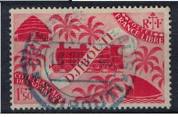 COTE DES SOMALIS   N°  YVERT  241    OBLITERE       ( Ob   2 / 32 ) - Oblitérés
