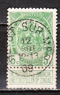 83  Armoiries - Oblit. Centrale HEYST SUR MER - LOOK!!!! - 1893-1907 Armarios