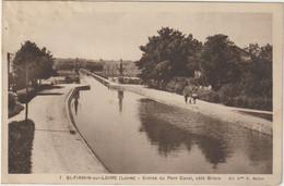 Saint-Firmin-sur-Loire-Entrée Du Pont Canal - (E.6799) - Autres Communes