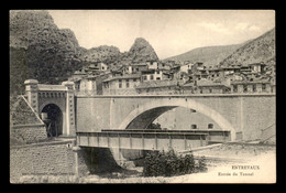 04 - ENTREVAUX - ENTREE DU TUNNEL - Other Municipalities