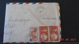 Lettre De 1943 De Martinique à Destination De New York - Lettres & Documents