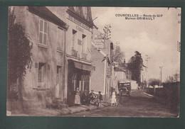 CP - 91 - Courcelles - Route De Gif - Maison Grimault - Otros Municipios