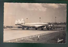 "CP - Av. - Lockheed Constelletion Air France - ""F-BAZU"" - Aéroport D'Orly - 1946-....: Ere Moderne"