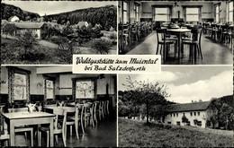 CPA Bad Salzdetfurth In Niedersachsen, Waldgaststätte Zum Maiental - Otros
