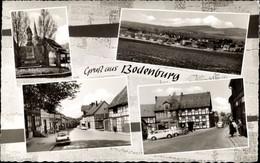 CPA Bodenburg Bad Salzdetfurth In Niedersachsen, Straßenpartie, Denkmal, Kirche, Ort - Otros