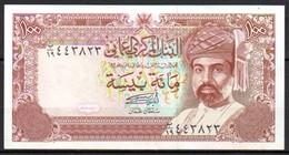 591-Oman Billet De 100 Baisa 1989 - Oman