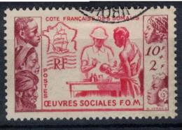 COTE DES SOMALIS   N°  YVERT  283  OBLITERE       ( Ob   2 / 36 ) - Used Stamps