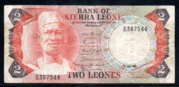 329-Sierra Leone 2 Leones 1980 B36 - Sierra Leone