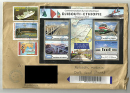 DJIBOUTI 2021  CIRCULATED COVER - Gibuti (1977-...)