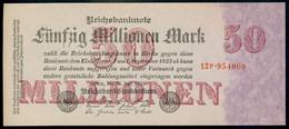 P98b Ro97b DEU-109b. 50 Million Mark 1923 NEUF UNC - 50 Millionen Mark
