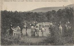 X123731 AFRIQUE MAROC CAMPAGNE 1907 - 1908 BEN SLIMAN GOUMIERS ABREUVANT LEURS CHEVAUX A L' OUED MEFFIFFICK - Other