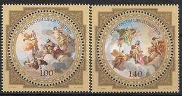 2010 Liechtenstein Mi. 1555-6**MNH    Fürstliche Schätze : Liechtenstein-Museum, Wien - Neufs