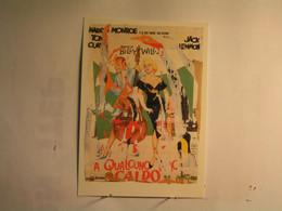 Cinema > Affiches Sur Carte - A Qualcuno .... - Marilyn Monroe - Tony Curtis - 1963 - Plakate Auf Karten