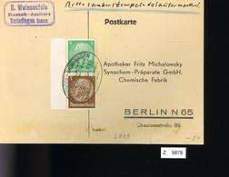 Deutsches Reich, Briefstück Aus Gebrauchspost Mit Zusammendruck: S 129 - Se-Tenant