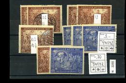 All. Bes. Gemeinschaftsausgaben, Xx, X, O, Ex 941-942 - Amerikaanse, Britse-en Russische Zone
