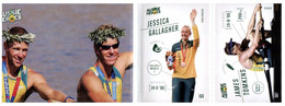 (XX 3 A) Australian Aussie Heroes - Olympic & Paralympic Games 2020 (part Of Collectable Supermarket) Rowing - Andere