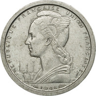 Monnaie, French West Africa, Franc, 1948, Paris, TTB, Aluminium, KM:3 - Elfenbeinküste