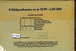 Bundesrepublik, P81, 30/222 - 30/229, Mi 12,00 - Cartoline - Nuovi