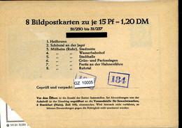 Bundesrepublik, P81, 31/230 - 30/237, Mi 12,00 - Cartoline - Nuovi