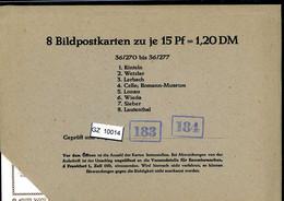 Bundesrepublik, P81, 36/270 - 36/277, Mi 12,00 - Cartoline - Nuovi