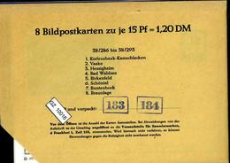 Bundesrepublik, P81, 38/286 - 38/293, Mi 12,00 - Cartoline - Nuovi